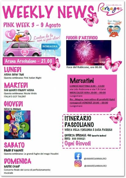 SAN MAURO MARE WEEKLY NEWS